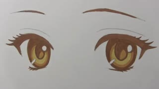 آموزش قدم به قدم نقاشی حرفه ای چشم به سبک انیمه How to Draw and Color Manga Eyes: Narrated Step-by-Step Tutorial