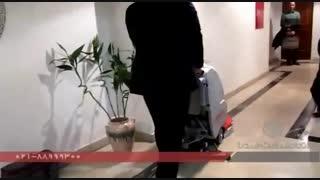 زمین شور صنعتی-اسکرابر -دستگاه کف شور -نظافت مکانیزه