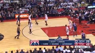 خلاصه بازی Toronto Raptors vs Washington Wizards