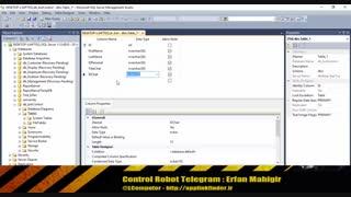 کنترل ربات تلگرام - قسمت سوم
