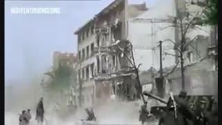صحنههایی از اشغال برلین توسط نیروهای متفقین در جنگ جهانی دوم