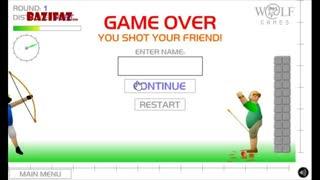 بازی آنلاین جالب تیراندازی apple shooter