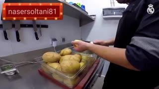 آشپز خانه باشگاه رئال مادرید