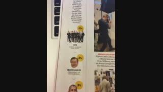 هورا بچه ها تو رای گیری مجله ی تایم که تو ویدیو های قبلی خواسته بودم برین رأی بدین ،BTSاول شد....