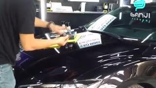 نحوه اجرای پوشش سرامیک بدنه خودرو سوناکس-گنجی پخش