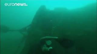 ویدئوی کشتیهای غرق شده در خلیج فارس
