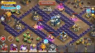 تریلر بازی Castle Clash - بازی استراتژیک کستل کلش اندروید