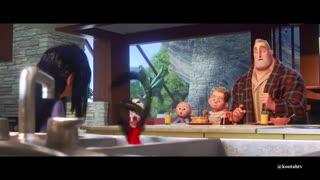 تریلر انیمیشن Incredibles 2