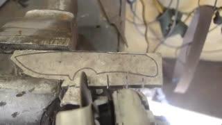 ساخت چاقو با فویل آلومینیومی