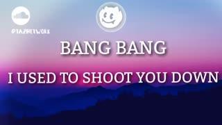 آهنگ Dua Lipa - Bang Bang (لایریک و ترجمه فارسی  در کپشن)