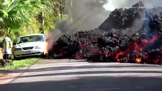 فوران ماگما و خراب های ایجاد شده در نقاط متعدد جزایر هاوایی