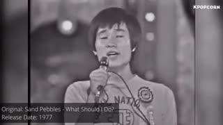 آهنگ کره ای هایی ک در واقع بازخوانی آهنگ خواننده های دیگه این...این کار غیر قانونی نیس