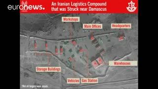 تصاویر چهار مرکز اطلاعات-عملیات نیروهای نظامی که رژیم صهیونیستی ادعا میکند متعلق به ایران است
