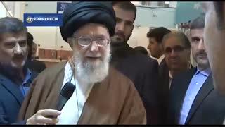 بازدید سرزده رهبر انقلاب از سی و یکمین نمایشگاه بینالمللی کتاب تهران