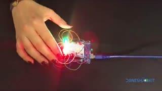 آموزش ساخت چراغ خطر راهنمایی رانندگی با برد آردوینو Arduino Traffic light