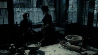 "JOHNNY DEEP(جانی دیپ) صحنه ای جالب از فیلم موزیکال ""آرایشگر شیطانی خیابان فلیت"""