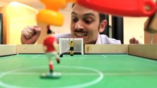 فوتبال دستی مکانیکی