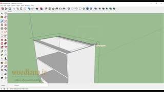 آموزش طراحی کابینت آشپزخانه- قسمت 3