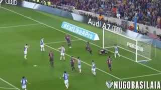 خلاصه بازی بارسلونا 1 - 0 سوسیه داد (اخرین بازی اینیستا)