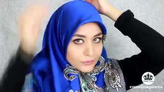 آموزش بستن روسری