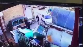 فیلم دوربین مدار بسته از دزدیده شدن دختر ۱۸ ساله در تبریز