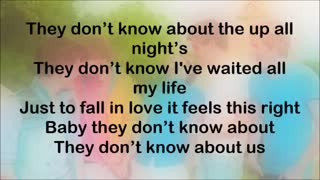 YouTube  One Direction - They Don't Know About Us (Lyrics On Screen)