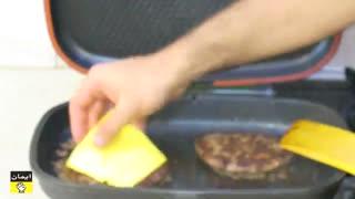 برگر ذغالی  - این همبرگر یکی از خوشمزه ترین ساندیچ ها در تهران است