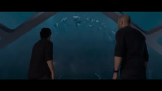 اولین تریلر منتشر شده از فیلم The Meg