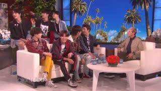 برنامه Ellen show با حضور BTS بازیرنویس فارسی آنلاین