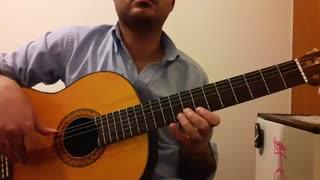 آموزش آهنگ ترکی Icimdeki Duman گیتار نت و تبلچر بهنام
