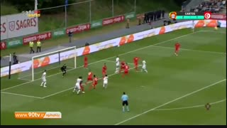 خلاصه بازی: پرتغال ۲-۲ تونس
