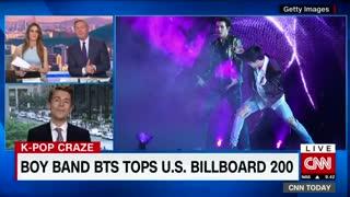 [Video] Boyband BTS Tops U.S. Billboard 200 - CNN [180529]