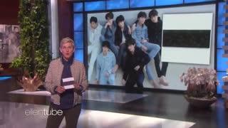 اجرا Fake Love از BTS در Ellen Show