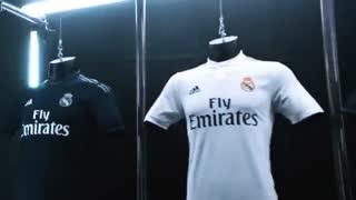 ,ویدئو رونمایی آدیداس از کیت رسمی فصل 2018/19 رئال مادرید