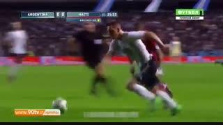 خلاصه بازی: آرژانتین ۴-۰ هائیتی (هتریک مسی)