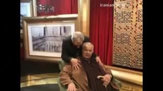 فیلمی که ناصر ملک مطیعی از دورهمی مهران مدیری منتشر کرد!