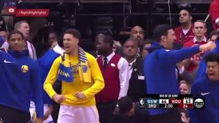 خلاصه بازی GS Warriors vs Houston Rockets