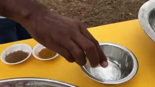 فیلم اعلی درجه  مستند املت بزرگ و 10 نفره تخم شترمرغ هندی