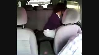 تصادفات بین جاده ای از زاویه داخل خودرو!