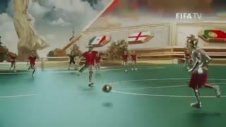 تیزر رسمی بازیهای جام جهانی روسیه2018