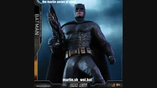 فیگور بتمن Batman از JL ، کمپانی HOT toy .