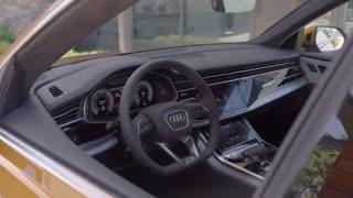 اولین نگاه به خودرو Audi Q8 2019 : جی دی