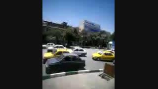 اذان انقلابی در میدان شهدا