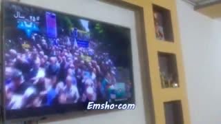 تظاهرات دهه هشتادی های 97 شعار مرگ بر آمریکا  در راهپیمایی قدس