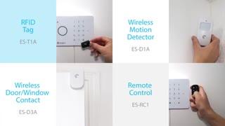 راهنمای نصب سیستم امنیتی (دزدگیر) Etiger پنل S3b