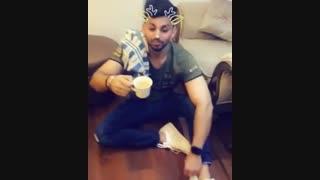 بشم در حال چایی خوردن^_^