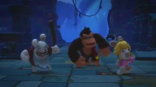 Mario + Rabbids Kingdom Battle: E3 2018 Donkey Kong Adventure DLC Gameplay Trailer | Ubisoft