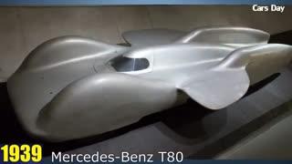 خودروی بنز از سال 1886 تا 2017
