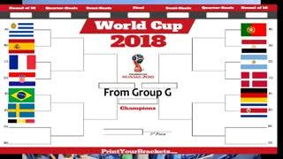 پیش بینی نتایج بازی های مراحل حذفی جام جهانی 2018 روسیه