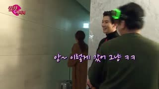 پشت صحنه ep 5 - secret queen makers - chanyeol